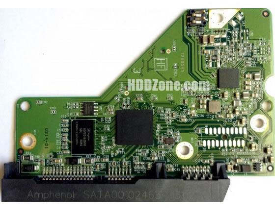2060-771829-005 WD Scheda Elettronica Logica PCB Disco Rigido