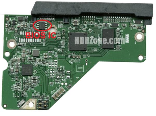 2060-771945-000 WD Scheda Elettronica Logica PCB Disco Rigido