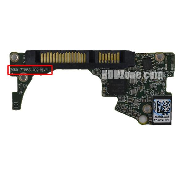 2060-771983-002 WD Scheda Elettronica Logica PCB Disco Rigido